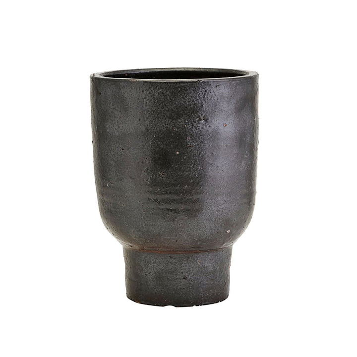 Artist flowerpot, Ø 20 x H 26 cm, black by House Doctor