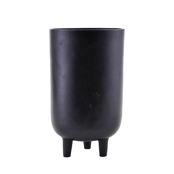 Jang flowerpot, Ø 15 x H 26 cm, black by House Doctor