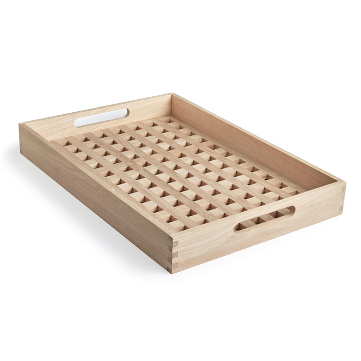Fionia Tray 52 x 36 by Skagerak in Oak