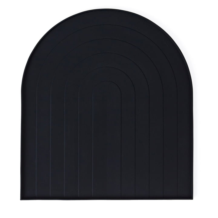 Drain mat from OYOY in black