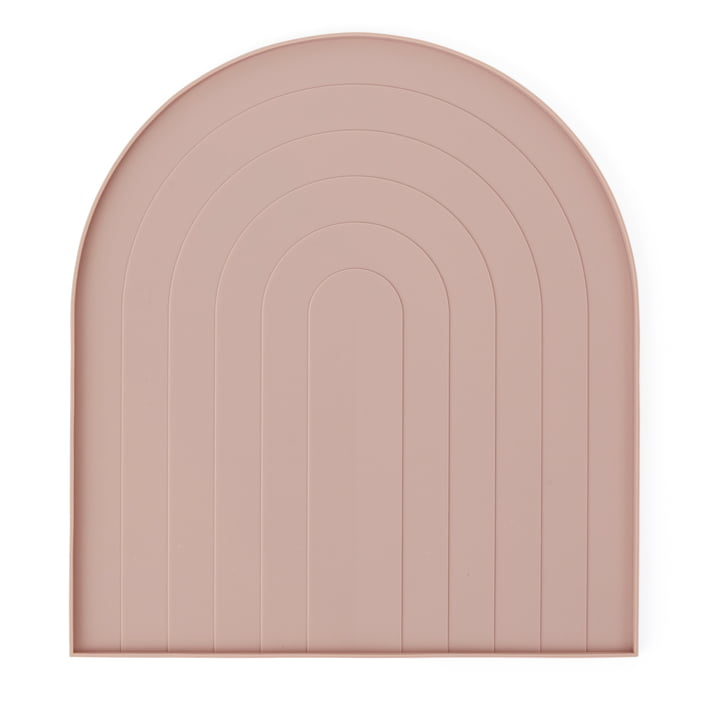 Draining mat from OYOY in pink