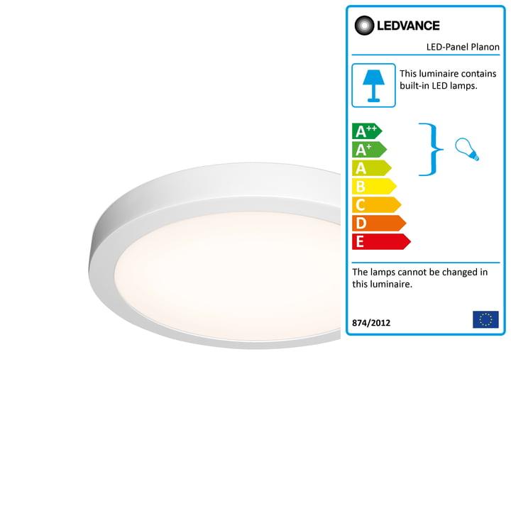 LED panel Planon Round, Ø 400 mm from Ledvance