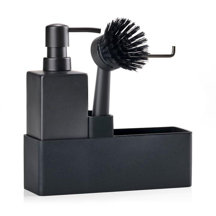 Dishwashing set (3 pcs.) from Zone Denmark in black