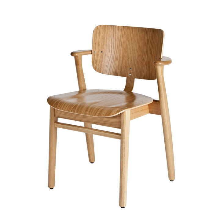 Domus chair by Artek in oak clear lacquered