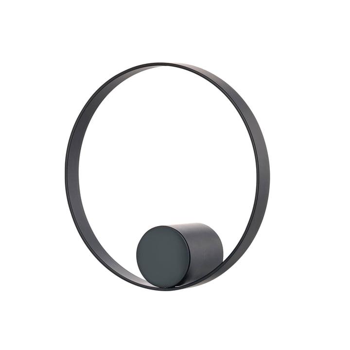 Hooked on Rings wall hook Ø 10 cm from Zone Denmark in black