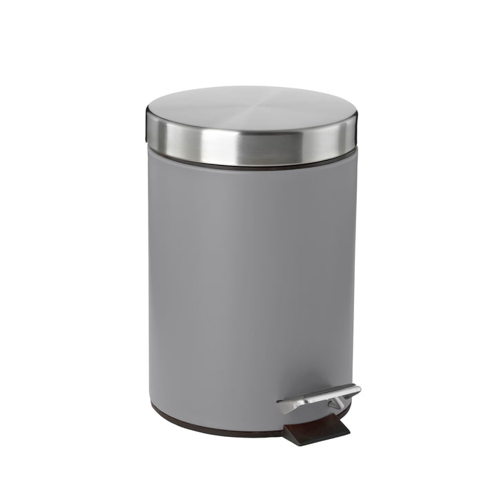 Pedal bin 3 L from Zone Denmark in grey