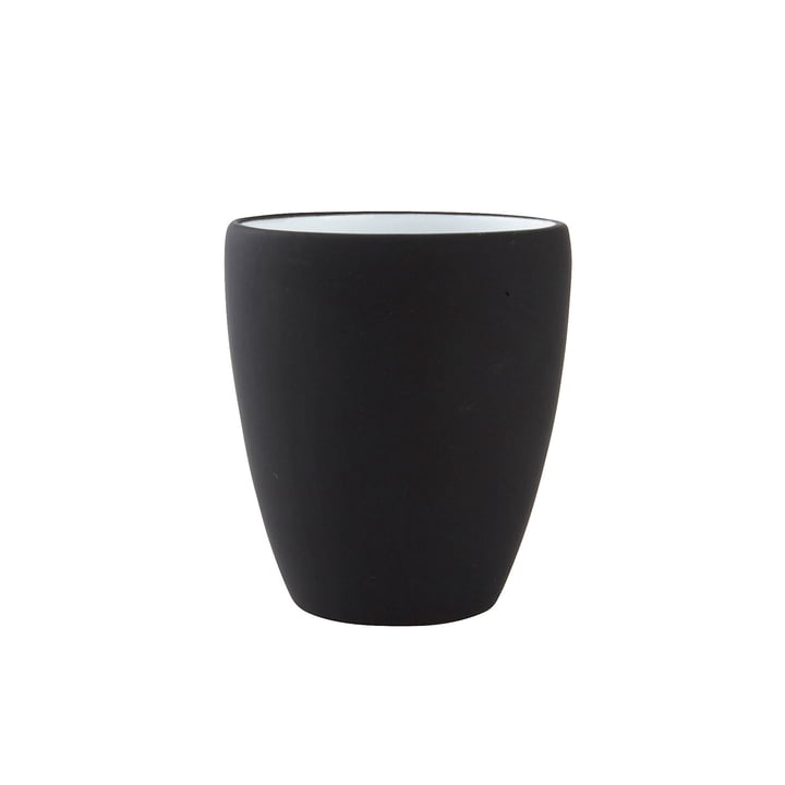 Soft toothbrush cup from Zone Denmark in black