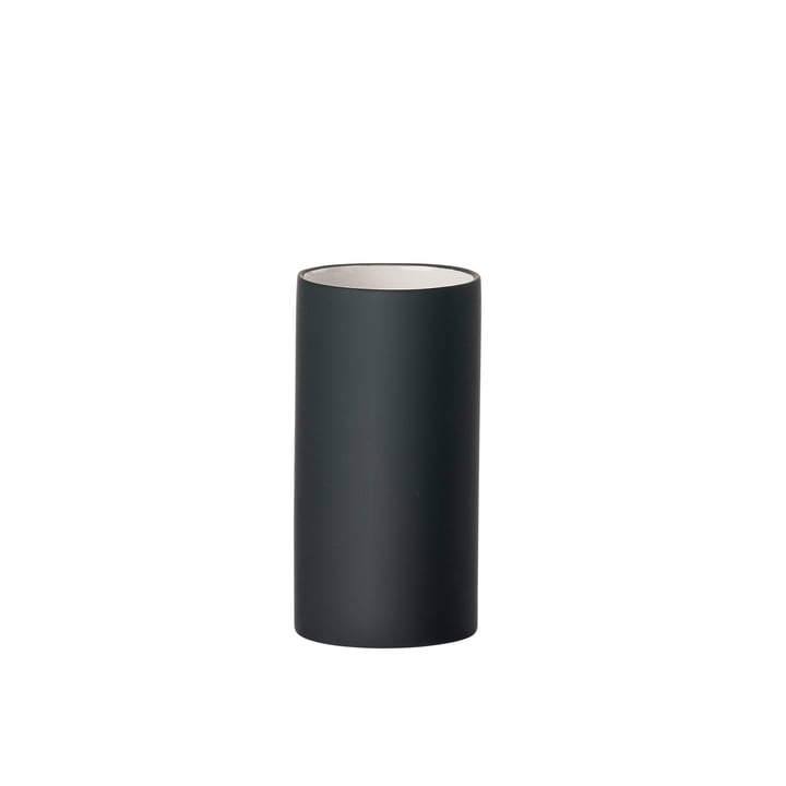 Solo toothbrush cup from Zone Denmark in black matt