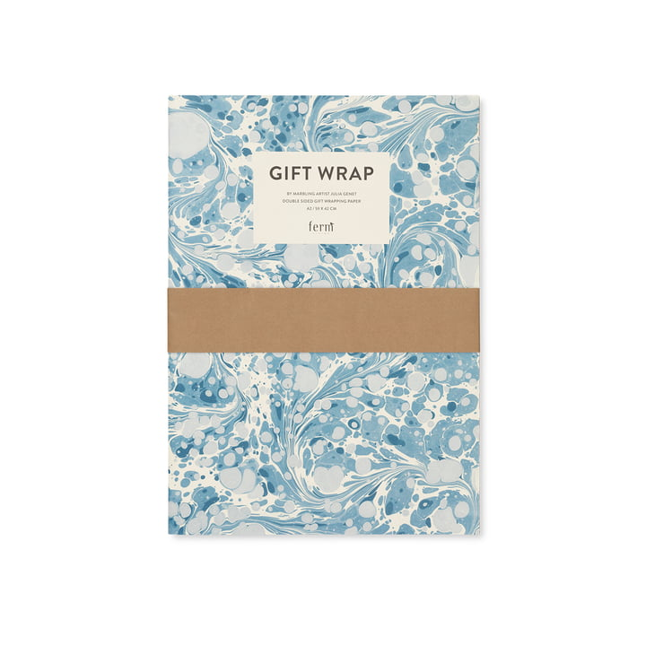 Wrapping paper book, marble by ferm Living