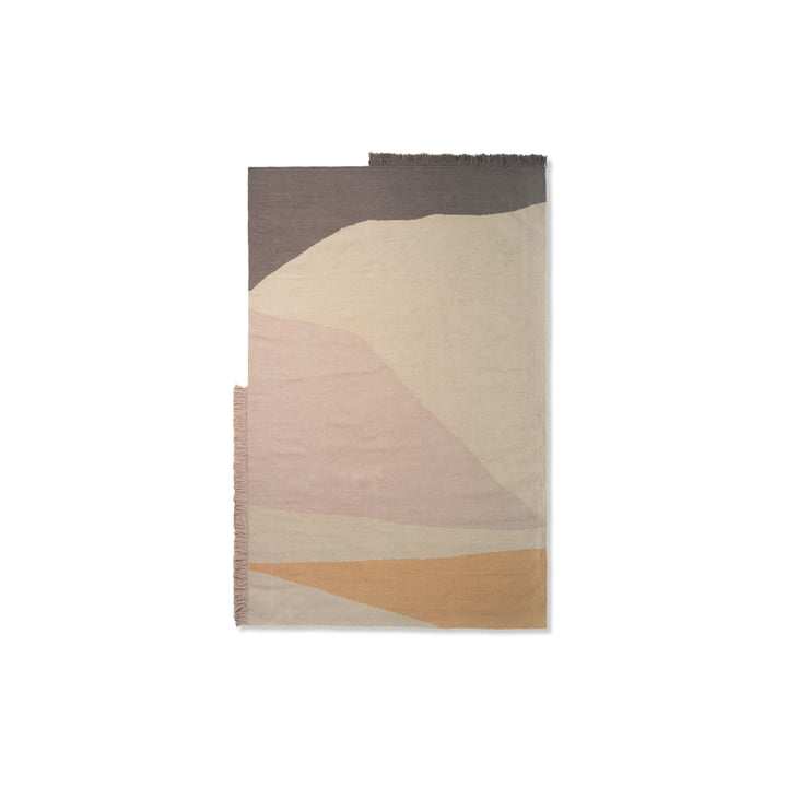 Kelim Mat Earth 50 x 70 cm from ferm Living in multi
