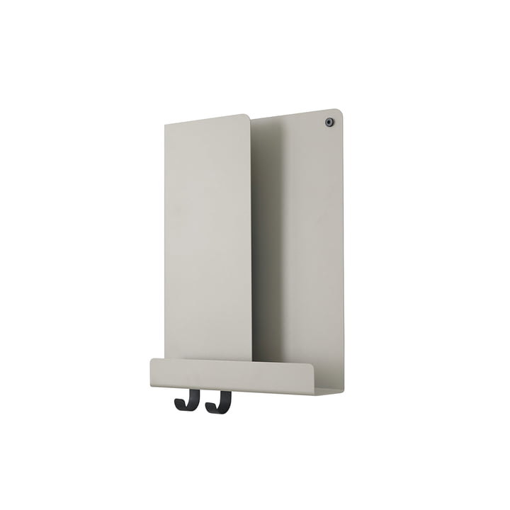 Folded Shelves 2 9. 5 x 40 cm from Muuto in grey