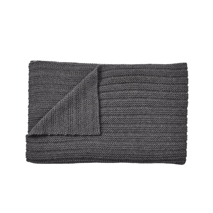 Ample rug 160 x 130 cm from Muuto in dark grey