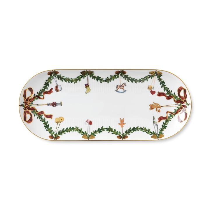 Star Fluted Christmas platter 39 cm from Royal Copenhagen
