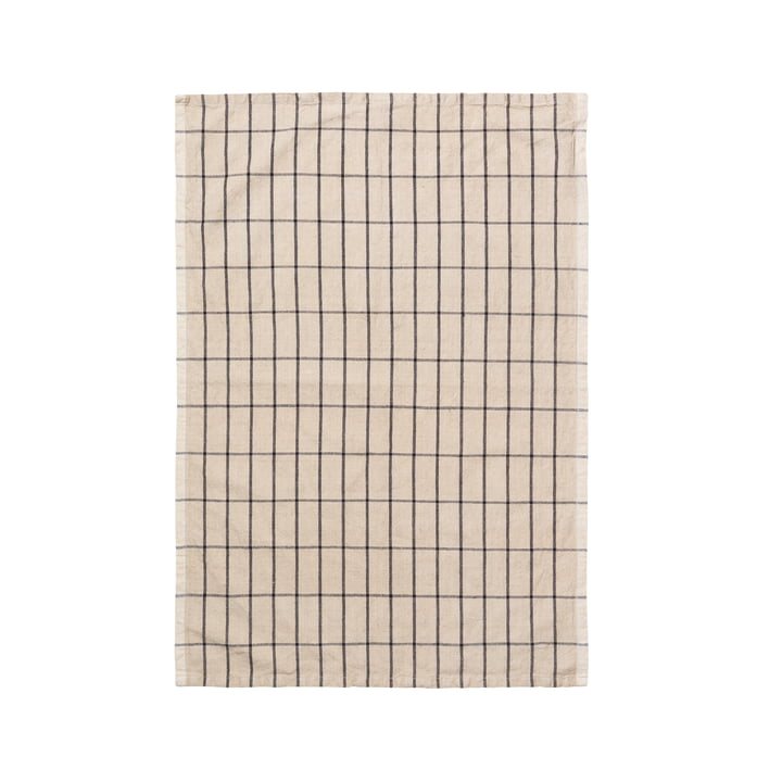 Hale tea towel from ferm Living in beige