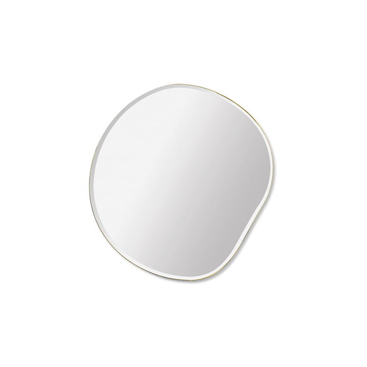 Pond mirror 52 x 50 cm by ferm Living in small