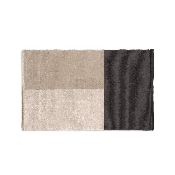 Pile bath mat 80 x 50 cm from ferm Living in grey