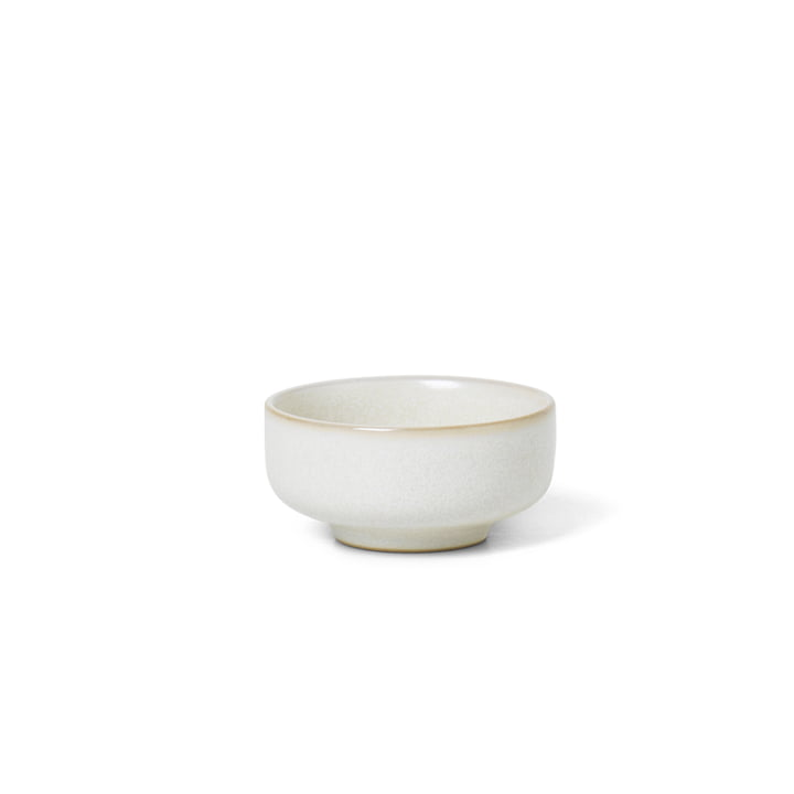 Sekki salt bowl by ferm Living in white