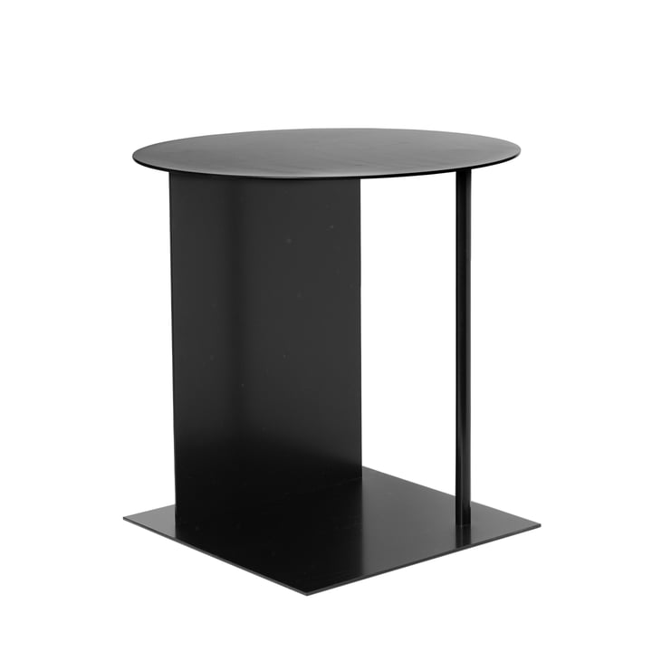 Place side table from ferm Living in black