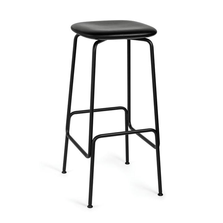 Equo bar stool by Caussa in ash black / black