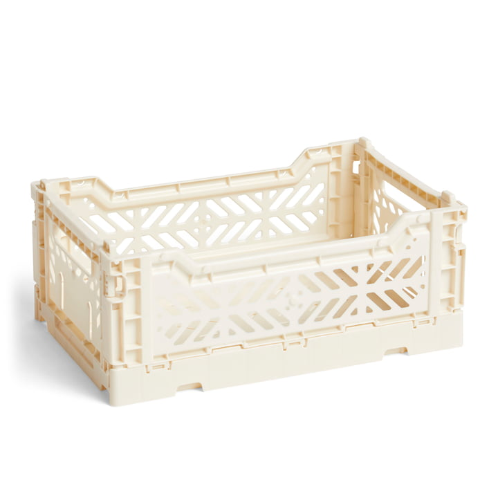 Hay - Colour Crate Basket S, 26,5 x 17 cm, off white