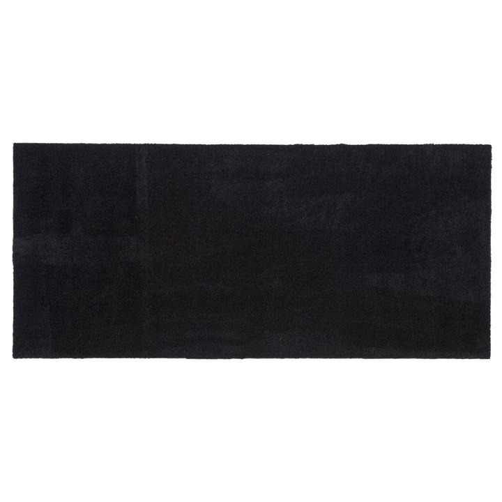 Doormat 67 x 150 cm from tica copenhagen in Unicolor black