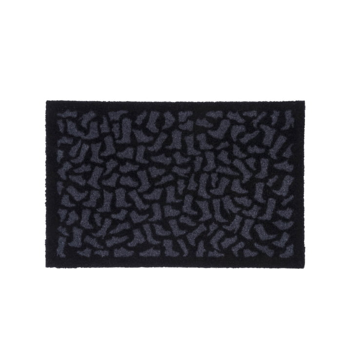 Footwear doormat 40 x 60 cm from tica copenhagen in black / grey