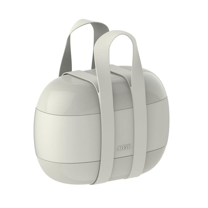 Food à Porter Lunchbox from Alessi in grey