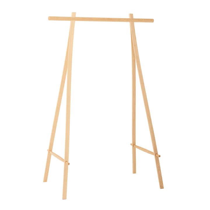 Coat rack 100 cm, oak from Made by Hand