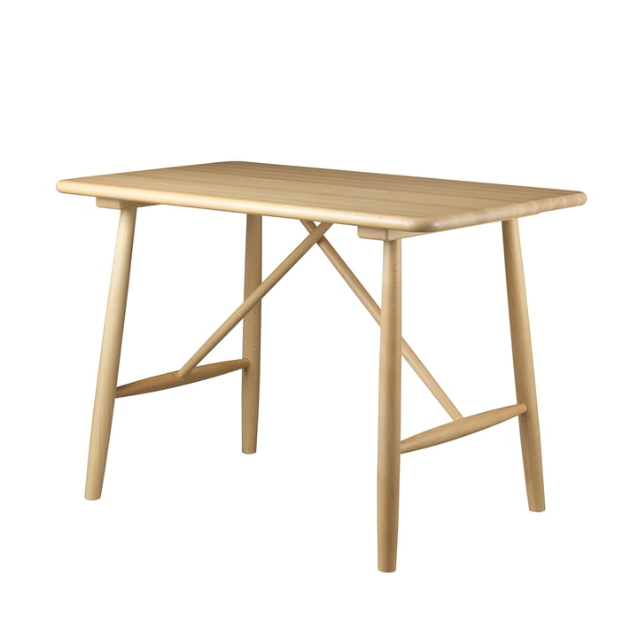 P10 children's table by FDB Møbler in beech clear lacquered
