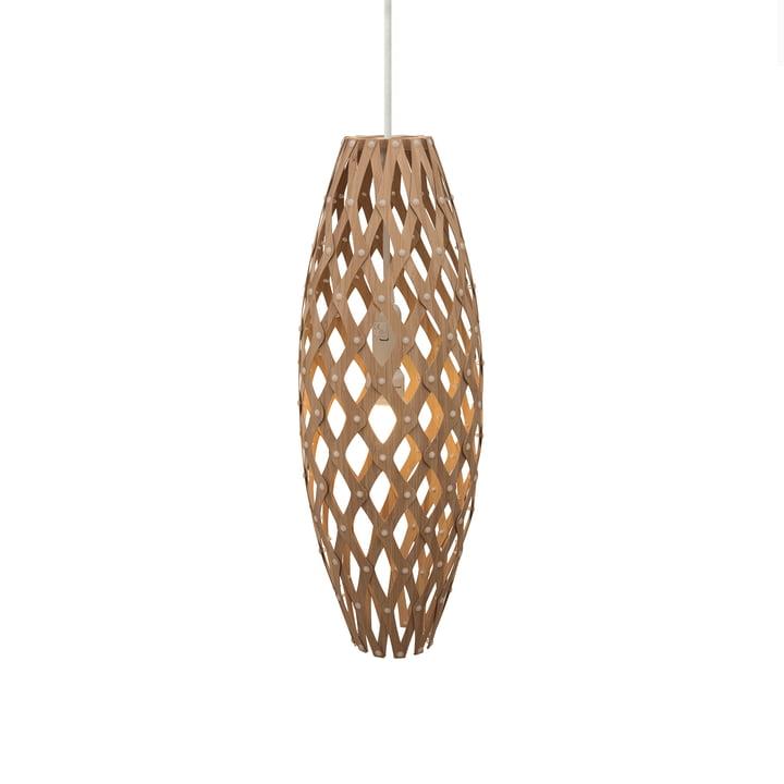 Hinaki pendant lamp Ø 17 cm by David Trubridge in caramel on both sides