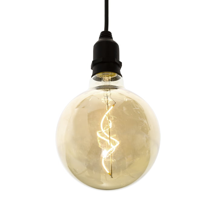 LED pendant luminaire without plug for indoor and outdoor use