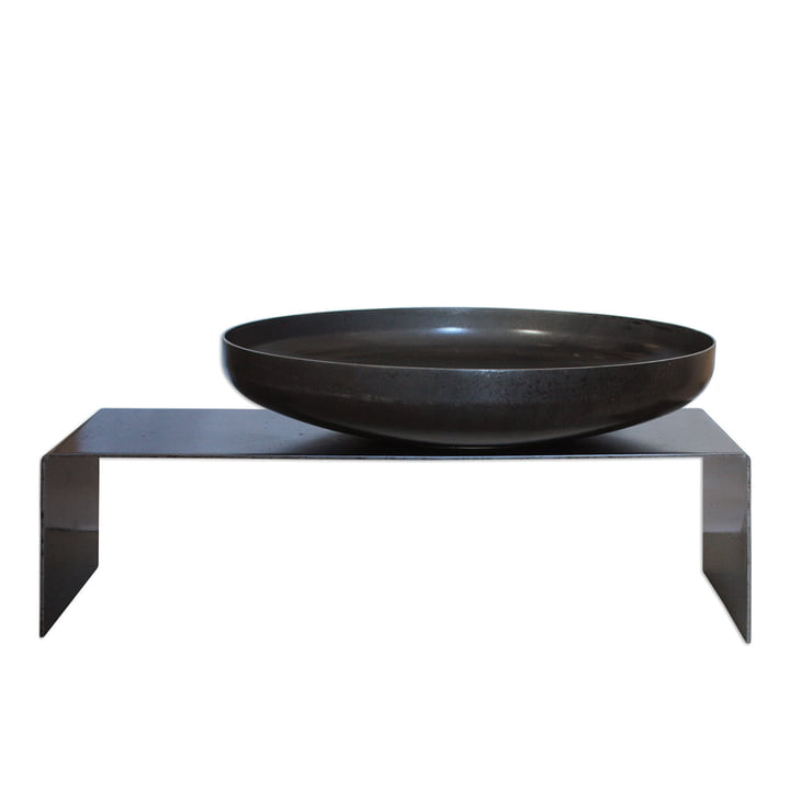 Fire bowl with bench, Ø 60 cm of room design