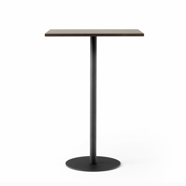 Nærvær Bistro table NA13 60 x 70 cm x H 102 cm from & Tradition in black / oak smoked