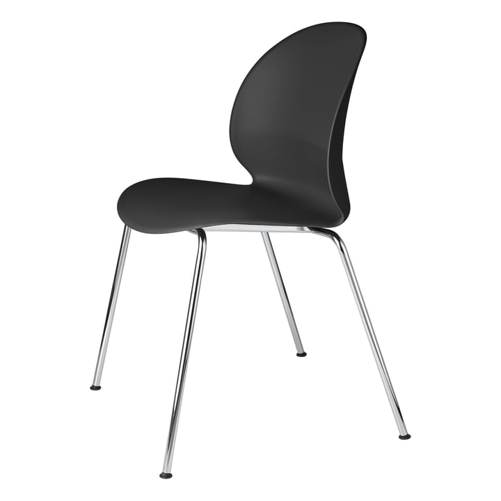 Fritz Hansen - N02 Recycle Chair, chrome / black