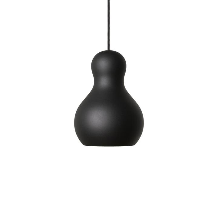 Calabash pendant lamp P1 by Fritz Hansen in black meteor