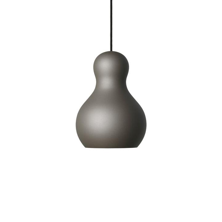 Calabash pendant lamp P1 by Fritz Hansen in grey meteor
