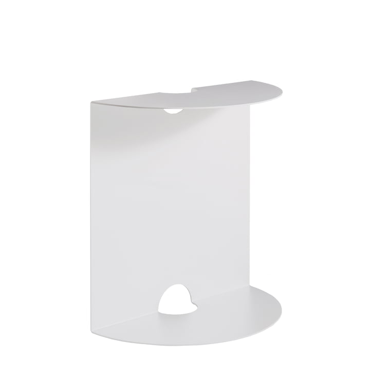 Weber side table from Objekte unserer Tage in white
