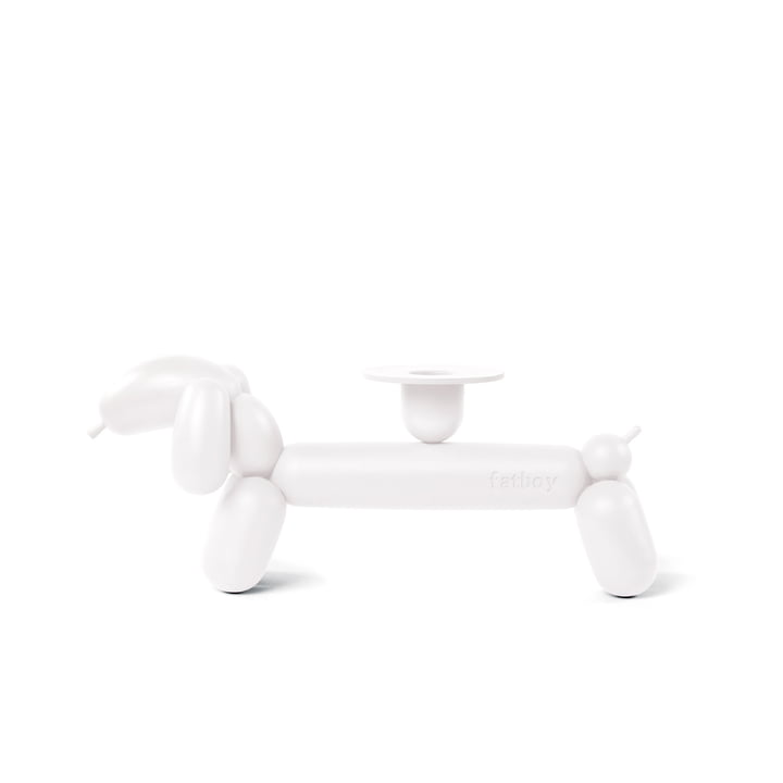 can-dog candlestick from Fatboy in white