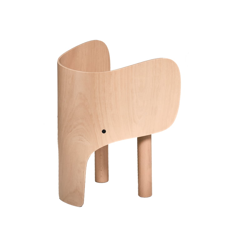 Elephant children's chair by EO Denmark in matt beech varnished