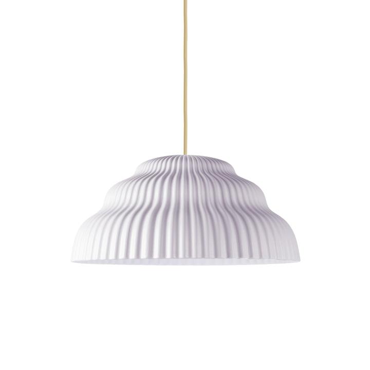 Cascade pendant lamp, seashell from Schneid