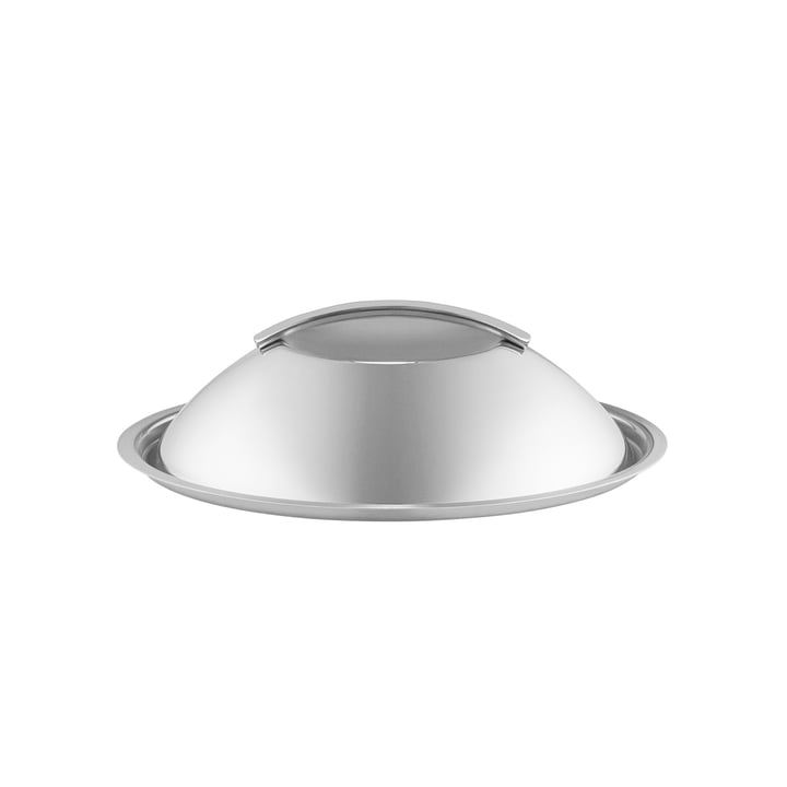 Curved stainless steel lid, Ø 20 cm from Eva Trio