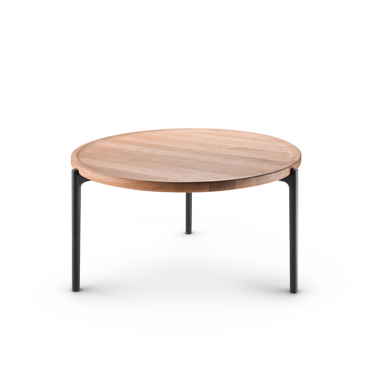 Savoye coffee table Ø 60 cm by Eva Solo in oak natural / black