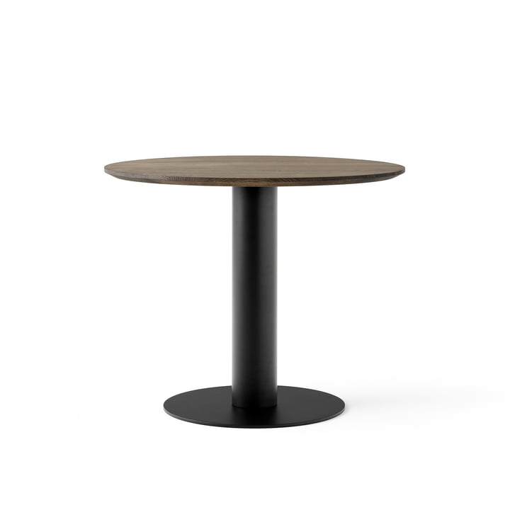In Between Table SK11 Ø 90 cm from & tradition smoked in oak