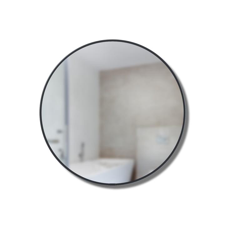 Cirko mirror shelf Ø 20 cm from Umbra in black