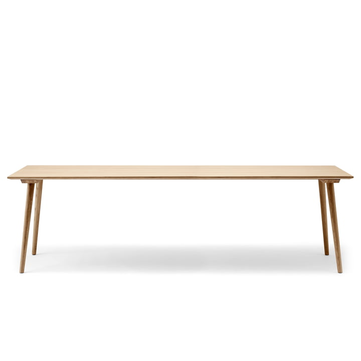 In Between table SK6 100 x 250 cm from & tradition lacquered in oak