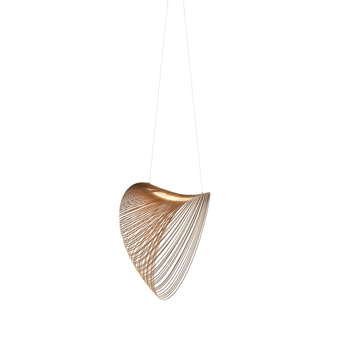 Illan LED pendant luminaire from Luceplan in birch