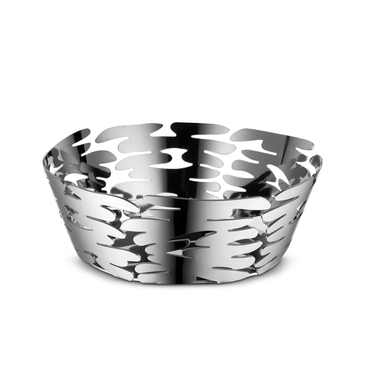Barket bowl Ø 18 cm from Alessi in stainless steel