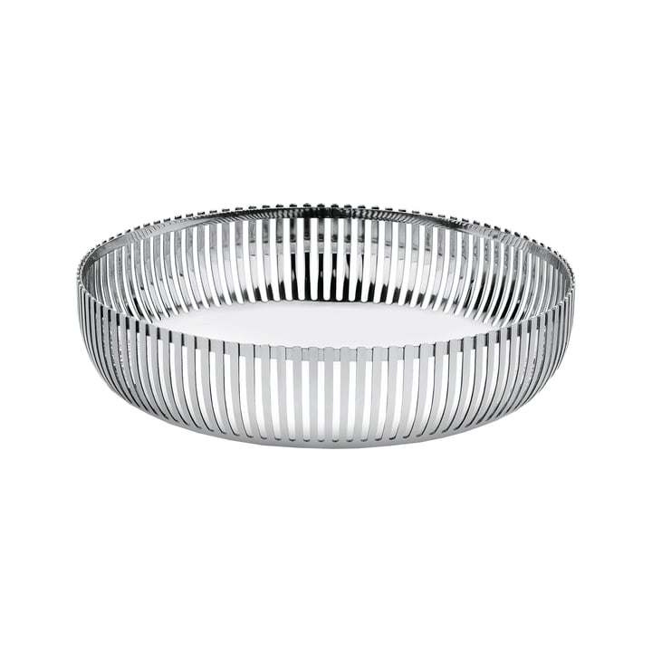Basket bowl Ø 20 cm from Alessi in stainless steel