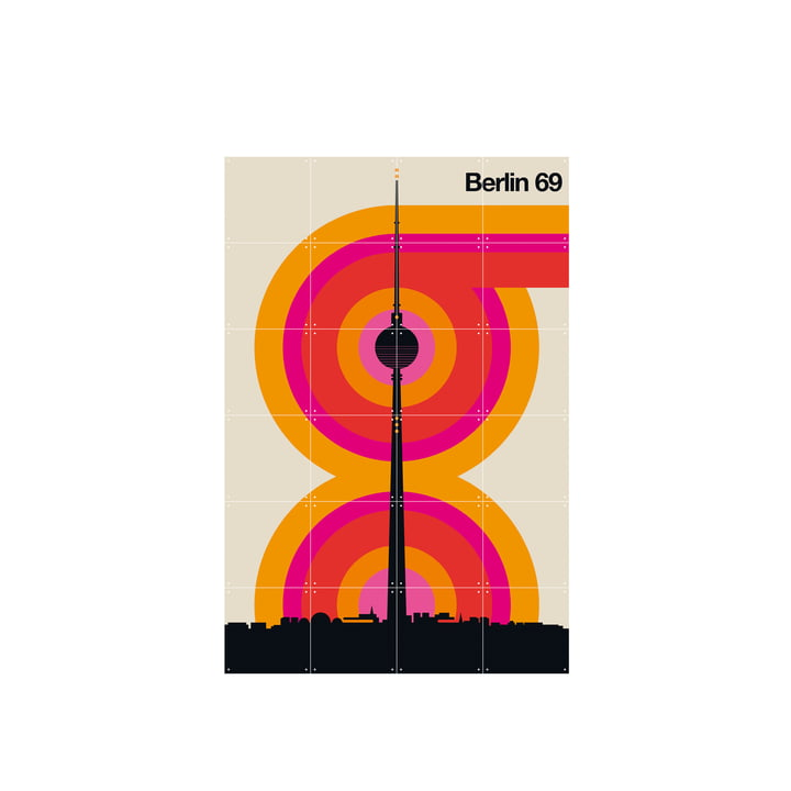Berlin 69 (Bo Lundberg) 80 x 120 cm from IXXI