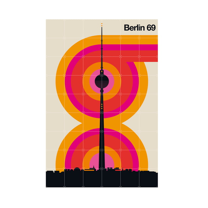 Berlin 69 (Bo Lundberg) 120 x 180 cm from IXXI